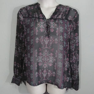 Maurices Tops - MAURICES Sheer Hi-lo Top